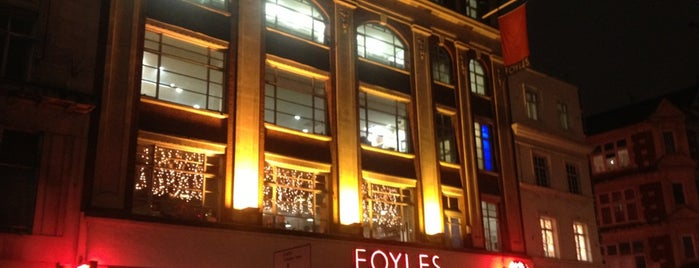 Foyles is one of Guardian Recommended Independent Bookshops.