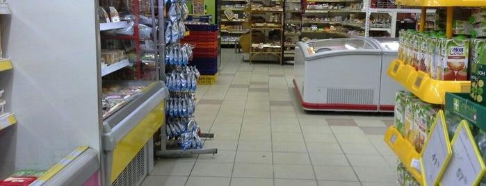 "Полушка is one of Район общежития на ""Шевченко""."