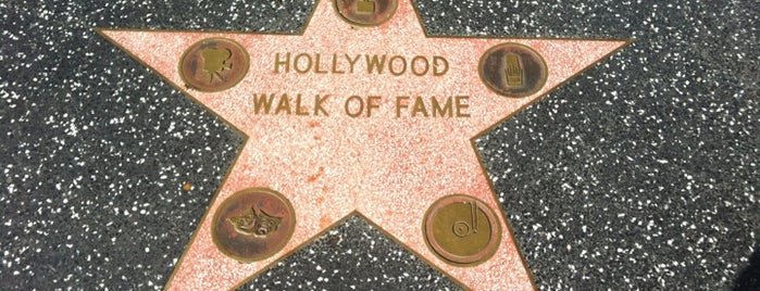 Hollywood Walk of Fame is one of LA/SoCal.