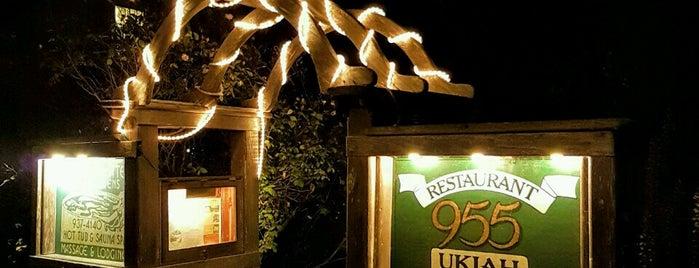 955 Ukiah Street Restaurant is one of Mendocino.