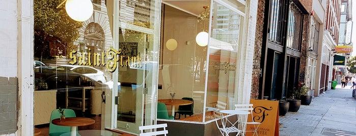 Saint Frank is one of San Francisco Caffeine Crawl.