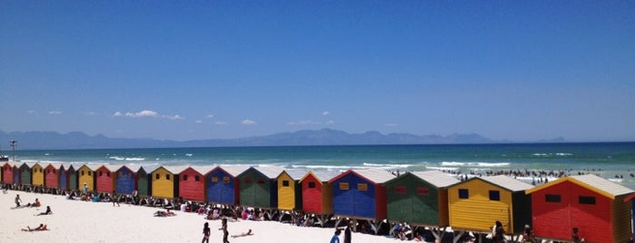 Muizenberg Beach is one of Travel Guide to Cape Town.