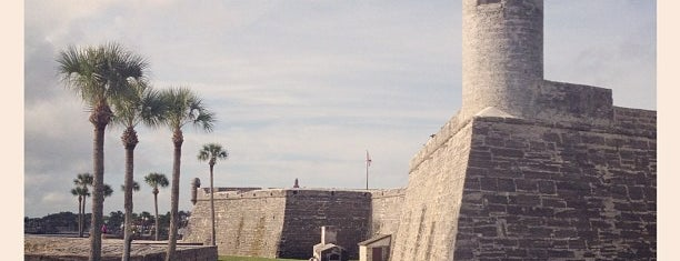 Castillo De San Marcos National Monument is one of LUGARES VISITADOS.