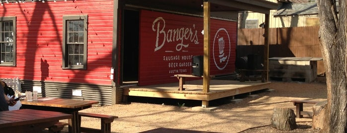 Banger's Sausage House & Beer Garden is one of #Austin.