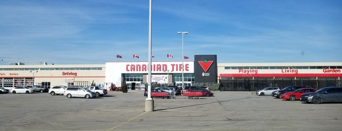 Canadian Tire is one of Waterloo.