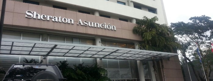 Sheraton Asunción Hotel is one of Lugares.