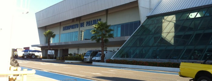 Palmas–Brigadeiro Lysias Rodrigues Airport (PMW) is one of Aeroportos.