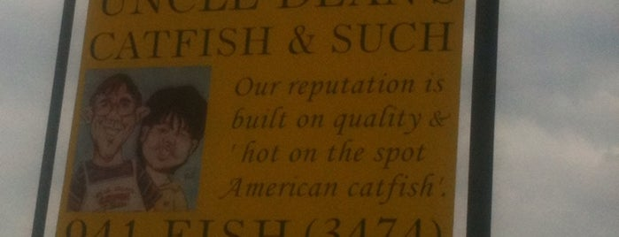 Uncle Dean's Catfish & Such is one of Best places to eat!.