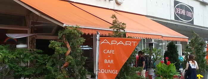 Café Apart is one of Meine Lieblingsrestaurants.