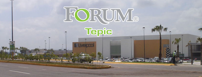 Forum Tepic is one of Malls.