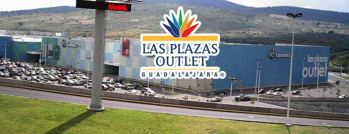 Las Plazas Outlet Guadalajara is one of Centros Comerciales Guadalajara.