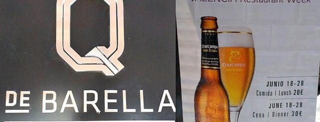 Q de Barella is one of Ruta michelín.