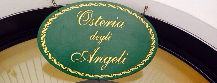 Osteria degli Angeli is one of Food in Varese.