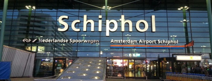Amsterdam Airport Schiphol (AMS) is one of Amsterdam.