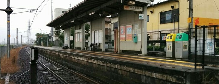 Owari-Morioka Sta. is one of JR線の駅.