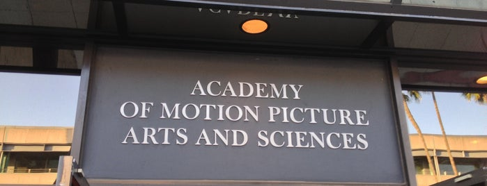 Academy of Motion Picture Arts and Sciences is one of Theaters.