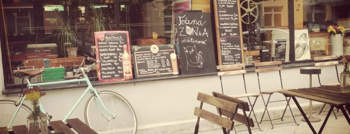 Transistor is one of Cafés.