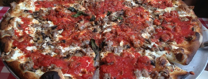 Grimaldi's Pizzeria is one of NYC Pizza.