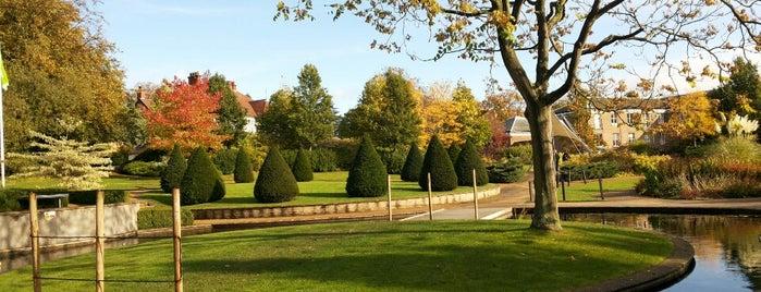 Millennium Garden is one of Nottingham.