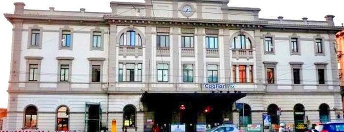 Stazione Ferroviaria di Cagliari is one of Luoghi.