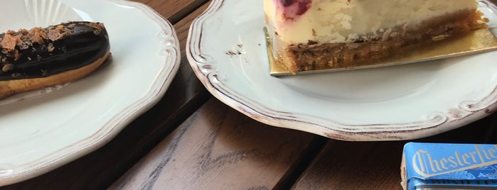 Sour & Sweet Artisan Bakery by Happy Bakers is one of cafe's.