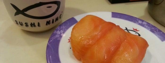 Sushi King is one of Makan @ Utara #7.