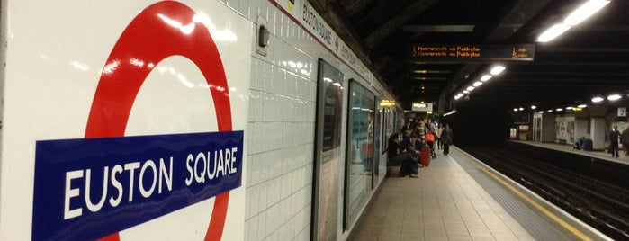 Euston Square London Underground Station is one of Rail stations.