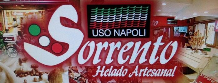 Sorrento (Helado Artesanales) is one of ❤️🍦.