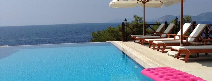 Zakros Exclusive Hotel ( Yunak Ada Lykia) is one of Otel.