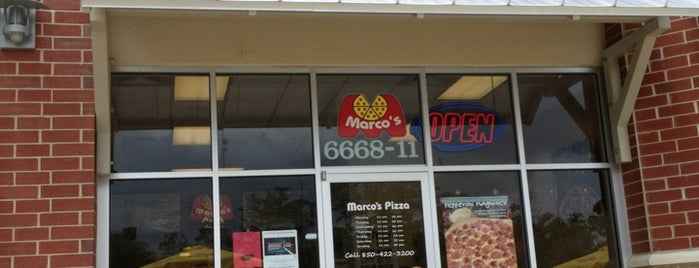 Marco's Pizza is one of Great Restaurants.