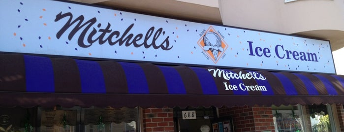 Mitchell's Ice Cream is one of Sylviaville.