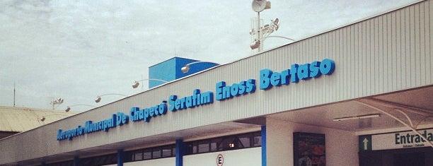 Aeroporto Municipal de Chapecó / Serafim Enoss Bertaso (XAP) is one of Aeroportos do Brasil.