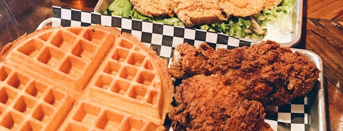 Streetcar Merchants Of Fried Chicken, Doughnuts & Coffee is one of The 15 Best Places for Waffles in San Diego.
