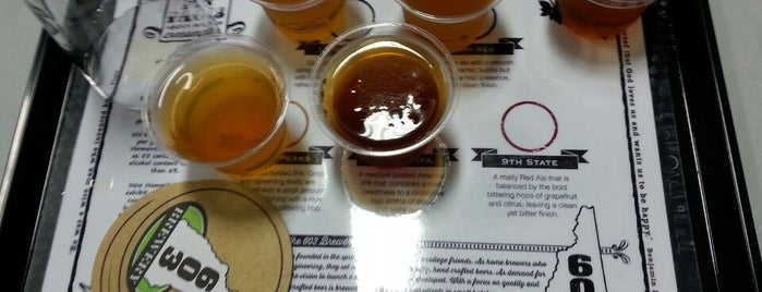 603 Brewery is one of New England Breweries.