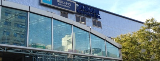 Nishi-kasai Station (T16) is one of Station.