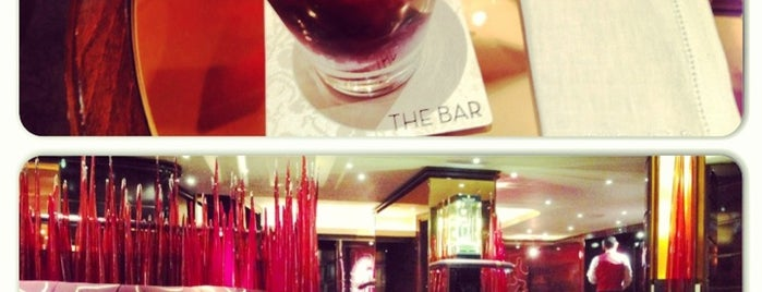 The Bar at the Dorchester is one of 20 favorite restaurants in London.