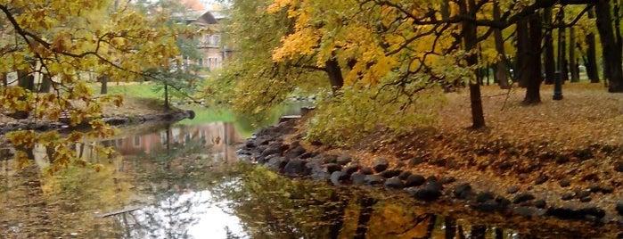 Лопухинский сад is one of Места оборудованные для видеотрансляций.
