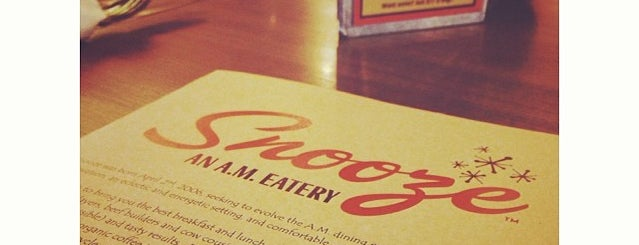 Snooze is one of The 15 Best Places for Breakfast Food in Phoenix.