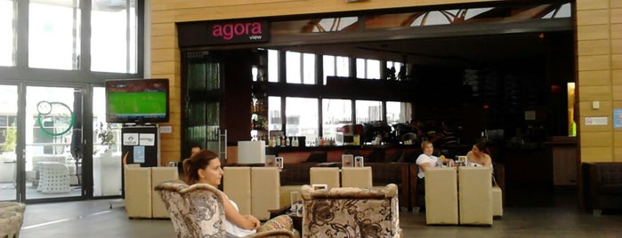 Agora View is one of coffee off-center.