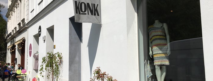 Konk is one of Berlin Baby.