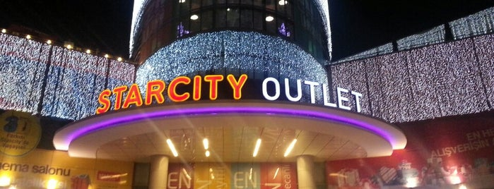 Starcity Outlet is one of İzmir' de Sinema - Tiyatro - Konser.