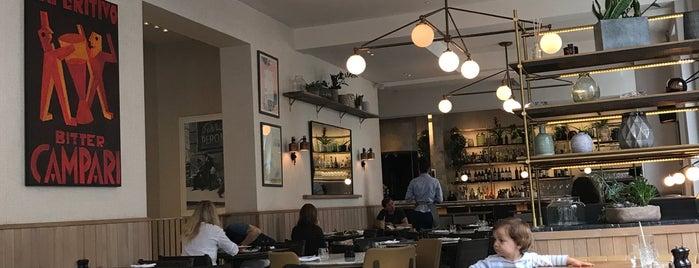 Bernardi's is one of London.