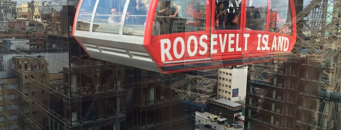 Roosevelt Island Tram (Manhattan Station) is one of Top 20 Free Things to Do in NYC.