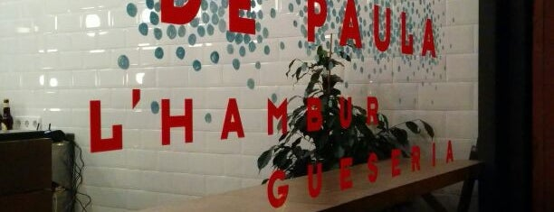 De Paula: l'Hamburgueseria del Poble Sec is one of Time out - Burgers.