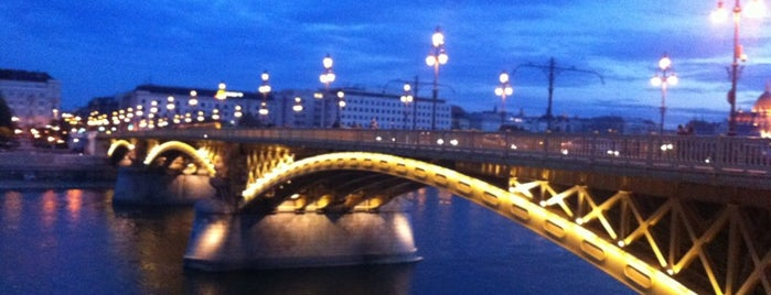 Margaret Bridge is one of budapesti hidak.