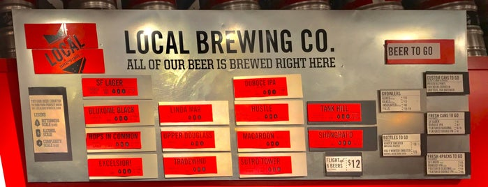 Local Brewing Co. is one of California Breweries 2.