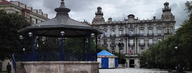 Pombo Square is one of Guide to Santander's best spots.