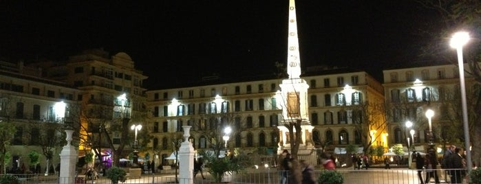 Plaza de la Merced is one of Rincones de Málaga.