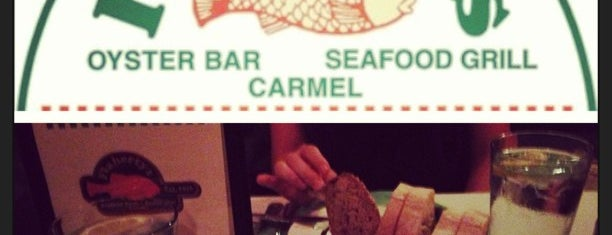Flaherty's Seafood Grill & Oyster Bar is one of Carmel.