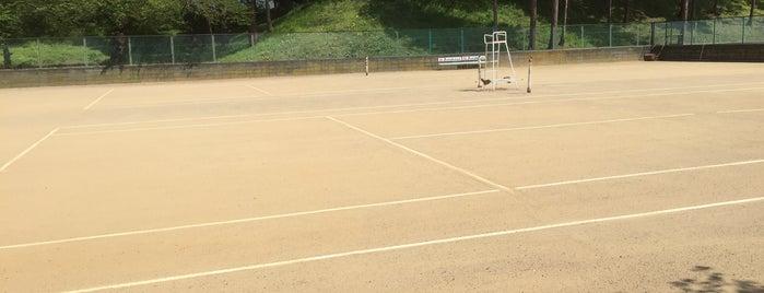 会津庭球場 is one of Tennis Court relates on me.